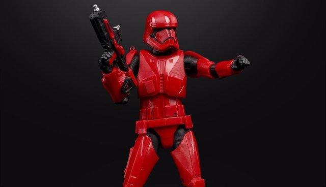 Edción especial de una figura de Sith Trooper, nuevo Stormtrooper en Star Wars Episodio IX: El ascenso de Skywalker