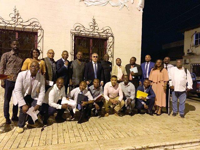 El presidente del COE, Alejandro Blanco, se ha reunido con las federaciones deportivas de Guinea Ecuatorial