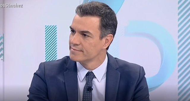 Entrevista en TVE al presidente del Gobierno en funciones, Pedro Sánchez