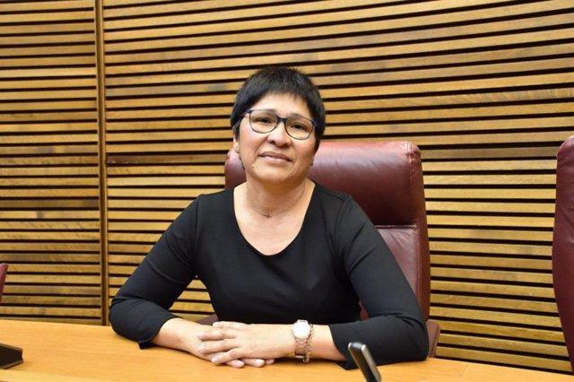 La diputada de Unides Podem, Irene Gómez