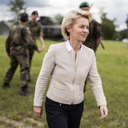Ursula Von Der Leyen, ministra de Defensa alemana y candidata a presidir la Comisión Europea