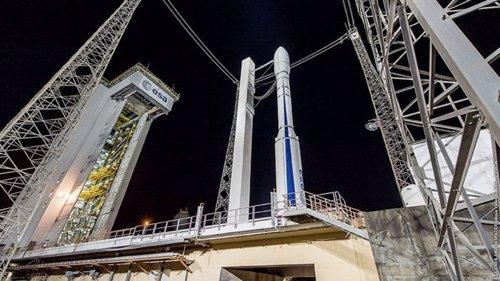 Cohete Vega VV15 ante del lanzamiento