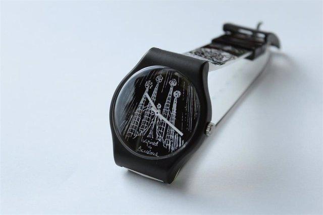 Imagen de recurso de un reloj de Miquel Fuster Inspired in Barcelona