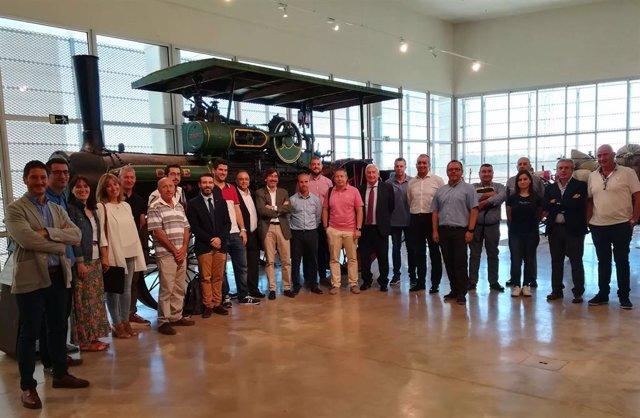 Reunión del Clúster de Maquinaria Agrícola de Aragón.