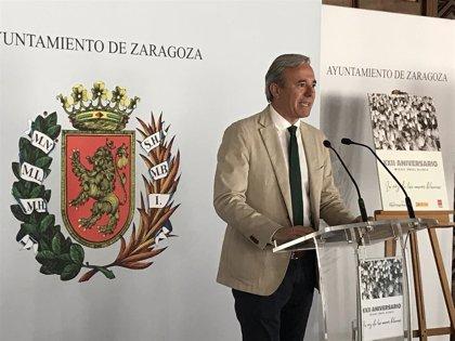 """Azcón dice que """"es nuestra obligación mantener vivo el recuerdo"""" de Miguel Ángel Blanco"""