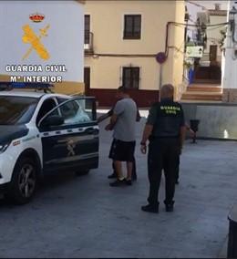 Detenido por la Guardia Civil