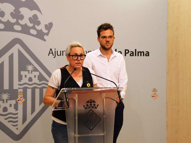 La regidora de Justicia Social, Feminismo y LGTBI, Sonia Vivas.