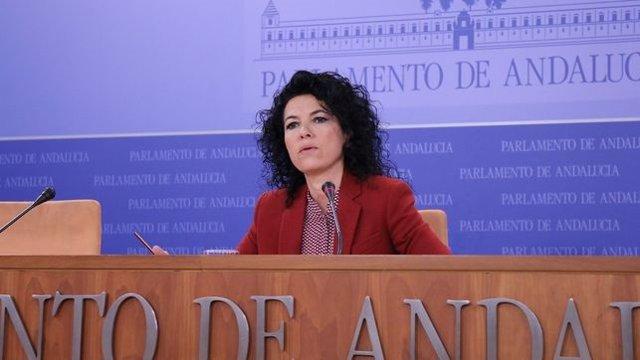 La diputada de Adelante Andalucía Maribel Mora