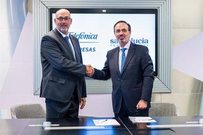 Telefónica impulsará al digitalización de las comunicaciones de Santalucía