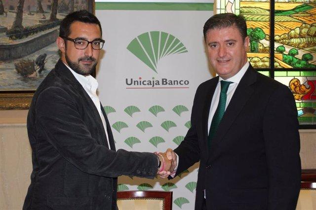 Unicaja Banco renueva su colaboración con la Asociación del Comercio e Industrias de Antequera (ACIA)