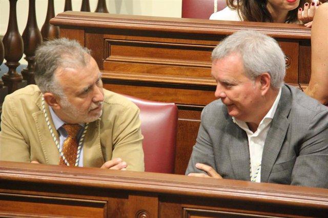 ACTO SOLEMNE DE APERTURA DE LA X LEGISLATURA (ÁNGEL VÍCTOR TORRES Y CHANO FRANQUIS)
