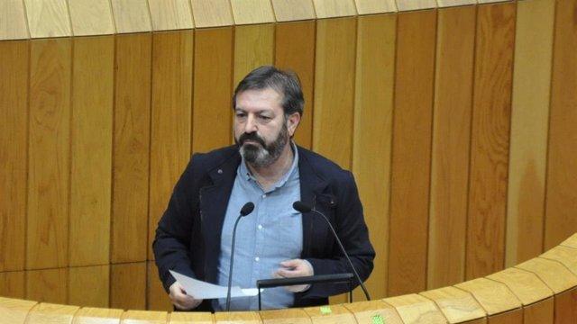 "[Grupovigo] Nota De Prensa: Luis Bará, No Parlamento Galego: ""Quérense Apropiar Do Monte De Mos Para Facer Negocio"""