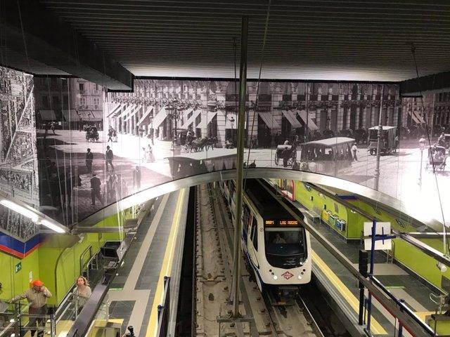 Reabre el tramo Retiro-Sol de la L2 de Metro