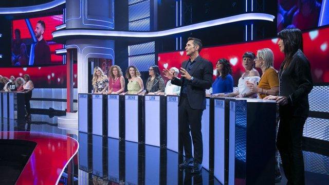 Imagen de 'Me quedo contigo', programa de Telecinco presentado por Jesús Vázquez