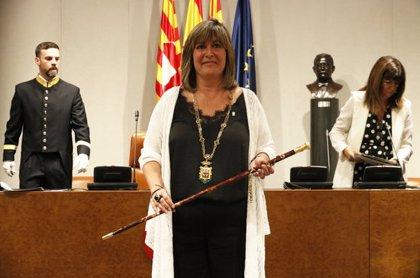 Marín reivindica el diàleg en el seu discurs d'investidura com a presidenta de la Diputació de Barcelona