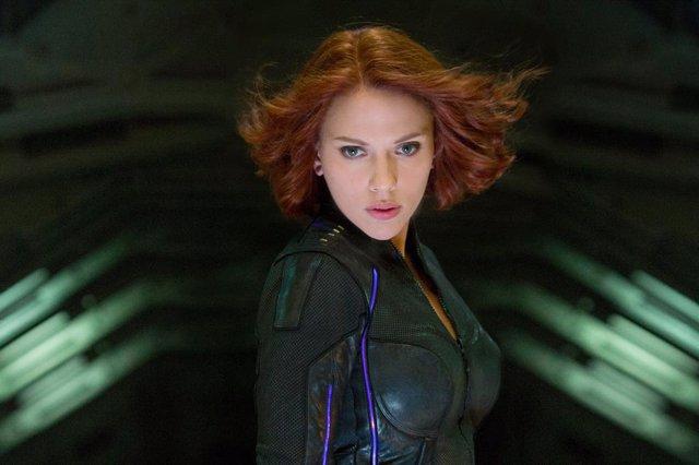 Scarlett Johansson es Viuda Negra en el Universo Marvel