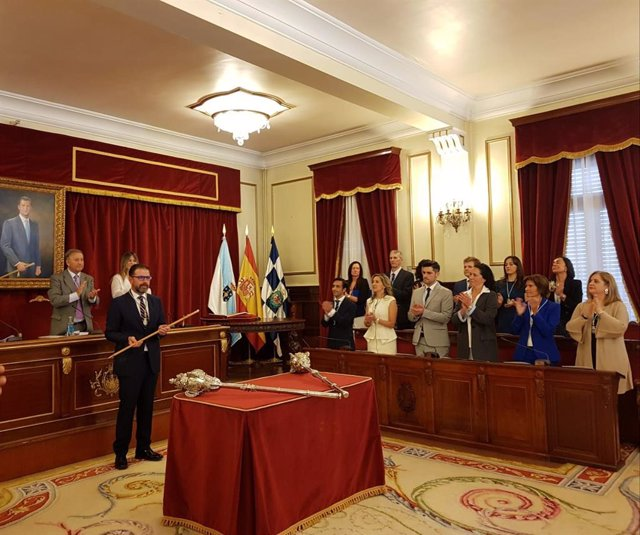 Investidura de Ángel Mato como alcalde de Ferrol