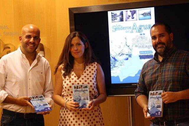 La Diputación edita una guía para disfrutar del agua en las 35 etapas de la Gran Senda de Málaga