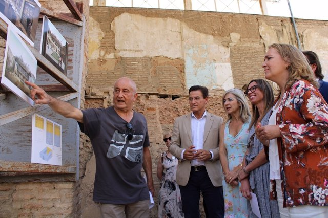 Presentación del proyecto de restauración del Maristán