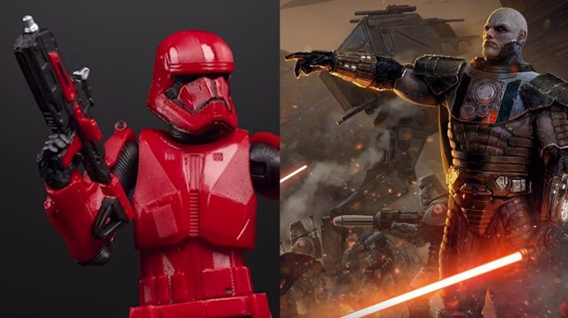 Sith Troopers de Star Wars