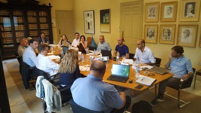 Reunión sobre el proyecto europeo EEREdata