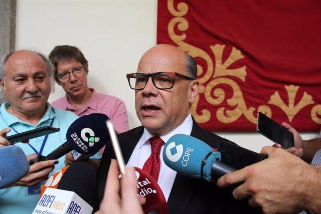 José Miguel Barragán, portavoz de CC