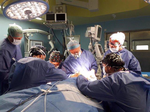 Transplante de ganglios en La Ribera