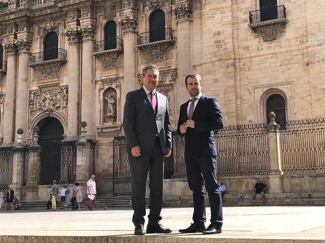 Los alcaldes de Jaén y Sevilla se marcan líneas de trabajo en común en desarroll