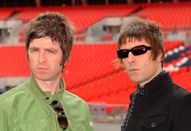 File photo dated 16/10/08 of Noel (left) and Liam Gallagher, as former Oasis guitarist Noel Gallagher said he will never forgive his brother for walking out on the band during a series of live shows six years ago.