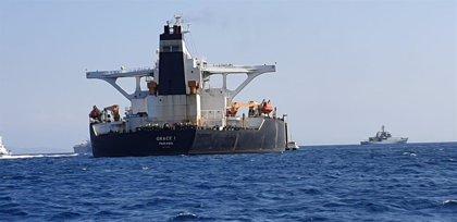Detenidos el capitán y el primer oficial del petrolero iraní por violar las sanciones de la UE