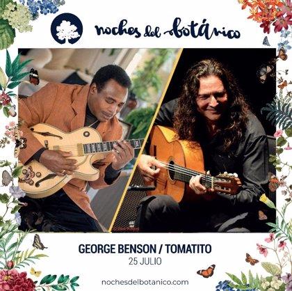 Sorteamos entradas para George Benson y Tomatito en Noches del Botánico