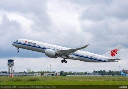 Air China comprará a Airbus 20 aviones A350-900, valorados en 5.807 millones