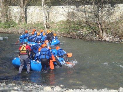 40 guías de aguas bravas de empresas aragonesas acreditan sus competencias por primera vez en España