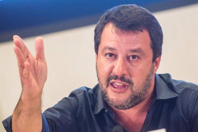 El ministro de Interior de Italia, Matteo Salvini