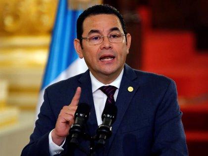 El presidente Guatemala, Jimmy Morales, viajará el próximo lunes a Washington, según un portavoz del Gobierno