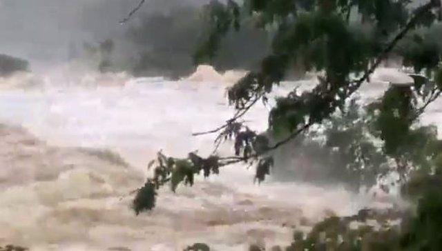 Lluvias torrenciales en el estado brasileño de Bahía