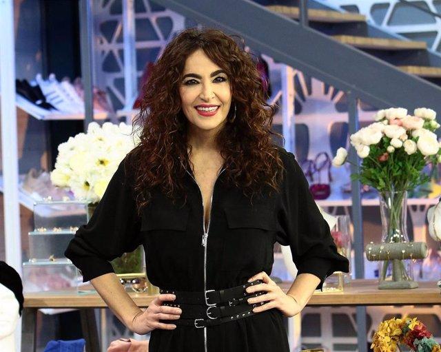 La estilista Cristina Rodríguez en la presentación de la nueva temporada de 'Cámbiame'