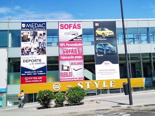 Ubicación del centro de Instituto MEDAC, en el CC La Viña en Mad