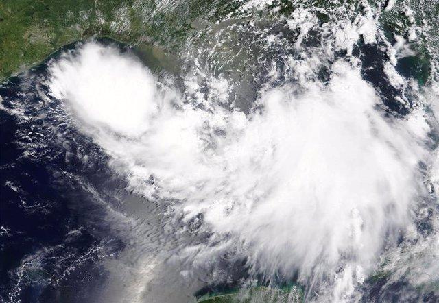 La tormenta tropical Barry.