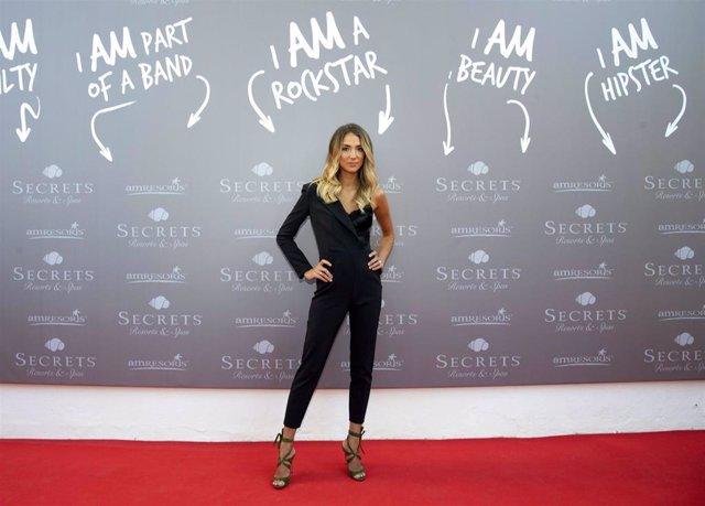 Alice Campello, estrella de la inauguración de un hotel en Mallorca