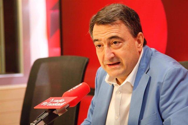 Aitor Esteban, portavoz del PNV en el Congreso de los Diputados