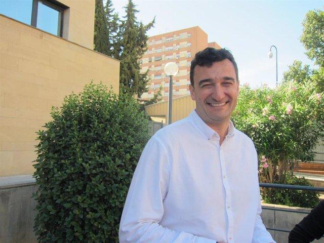 El candidato de Podemos-Equo a la Alcaldía de Murcia, Ginés Ruiz