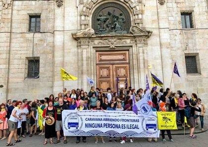 """La Caravana Abriendo Fronteras viaja a la Frontera Sur para reclamar derechos de migrantes y denunciar """"el neofascismo"""""""