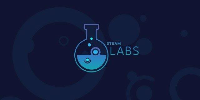 Logo de Steam Labs, la sección de pruebas de Steam
