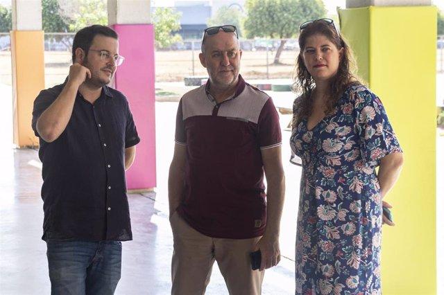 Visita del alcalde de Marratxí a una escuela de verano