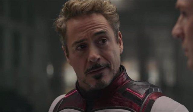 Imagen de Robert Downey Jr. como Tony Stark, Iron Man, en Vengadores Endgame