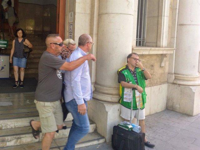 La acusada por el atropello mortal en Sa Ràpita acude a los juzgados de Avenida Alemania
