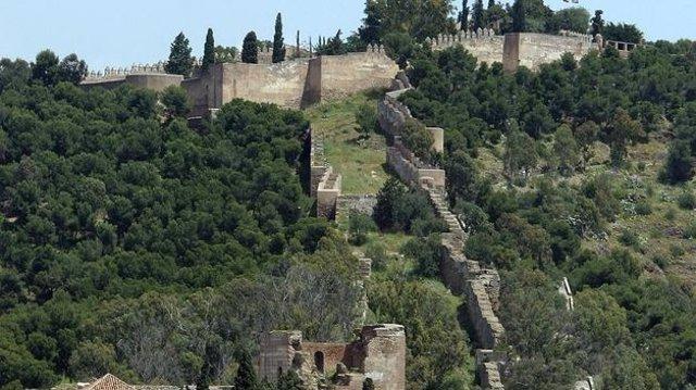 Alcazaba y Monte Gibralfaro.