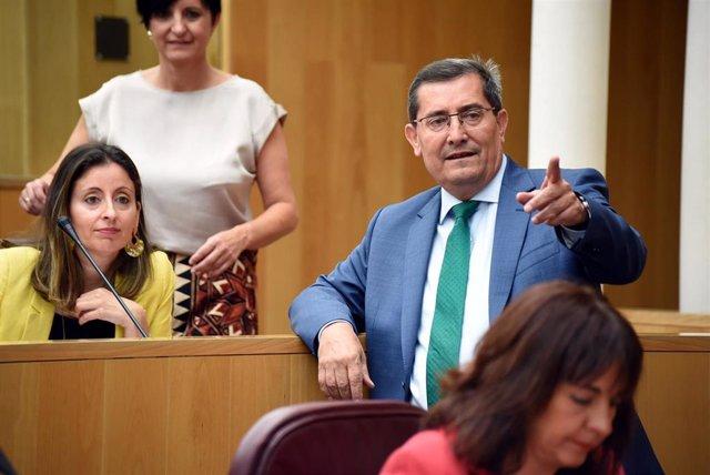 El presidente de la Diputación de Granada, José Entrena (PSOE)