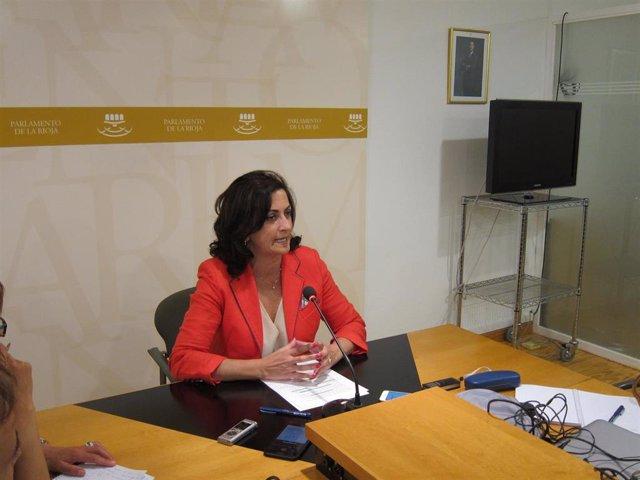La candidata a la Presidencia de La Rioja, Concha Andreu